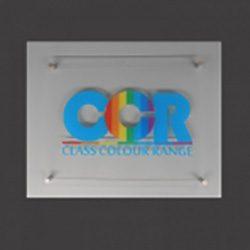 Acrylic Signs A4 GJ Plastics