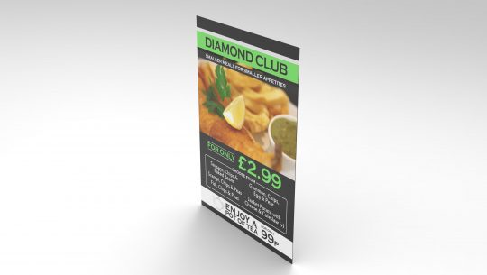 Printed Dibond boards, outdoor signs