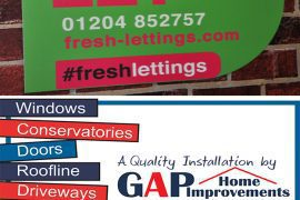 Estate Agent Boards, Letting Boards
