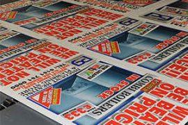Correx Board Printing, 8ft By 4ft GJ Plastics