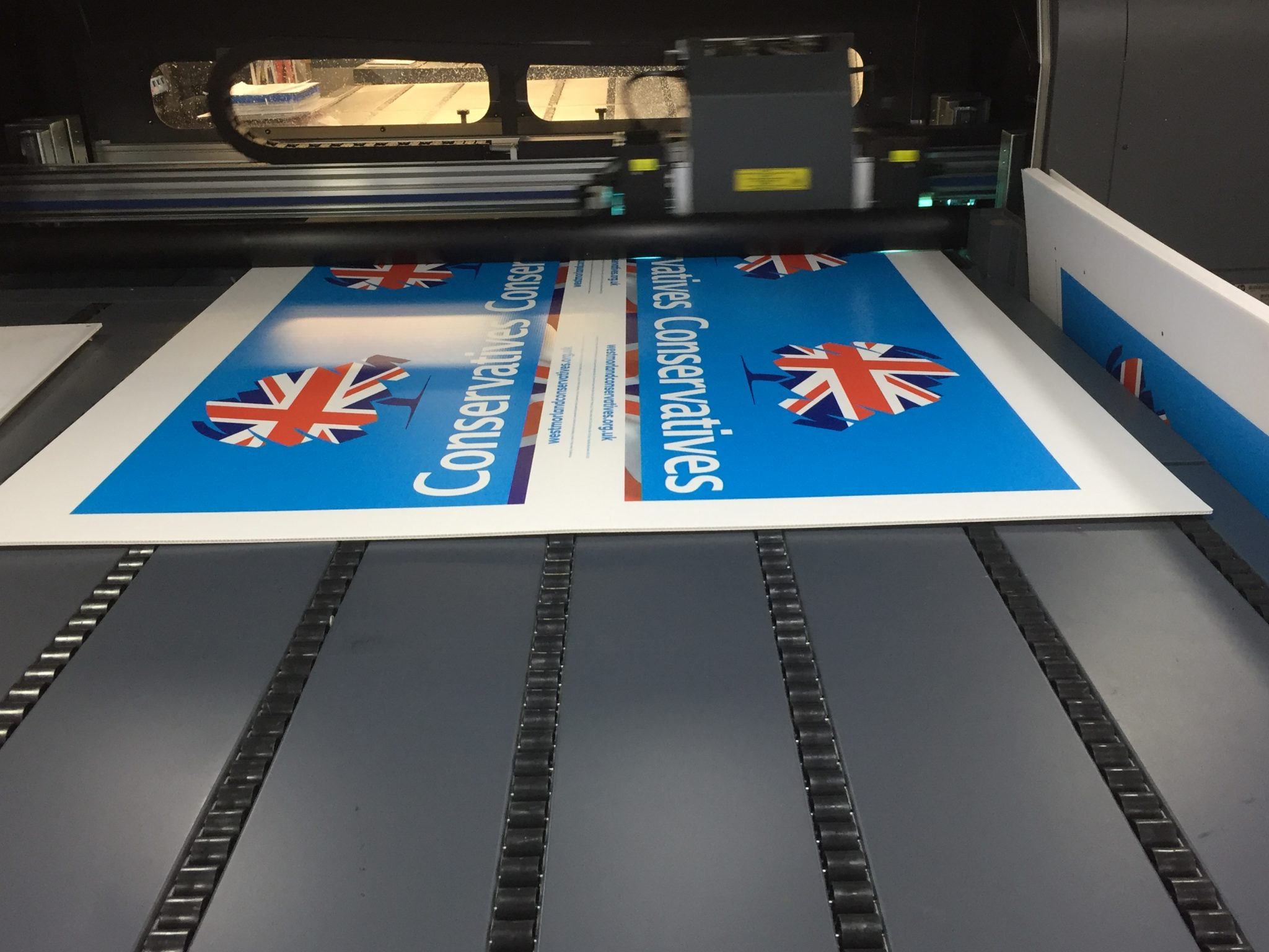 Correx printing in manchester bury bolton