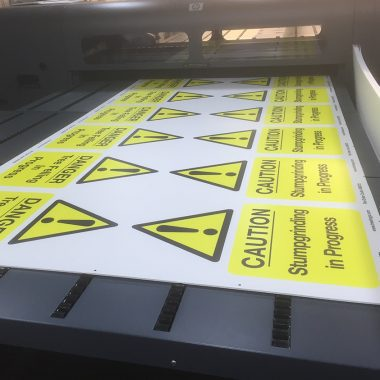 Correx Printing Boards, Temporary Signage.