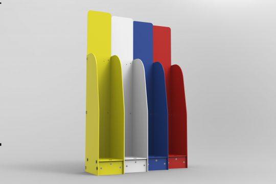 Foamex Brochure Stands A5 GJ Plastics