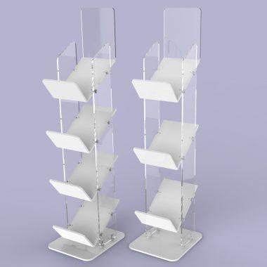 Acrylic Magazine Stand, Magazine Racks
