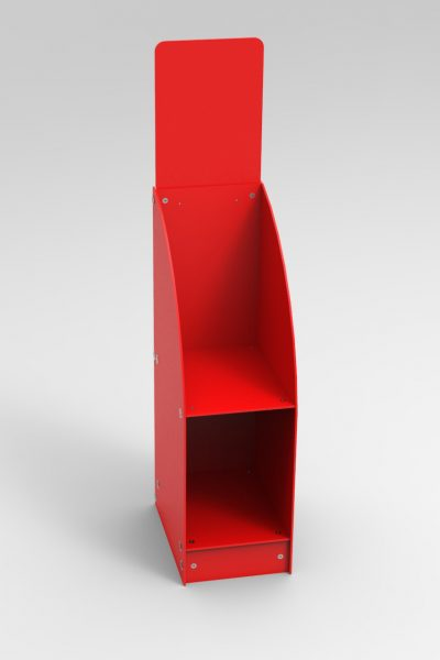 A4 Brochure Stand two tier GJ Plastics