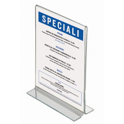 A5 Acrylic Poster Holder