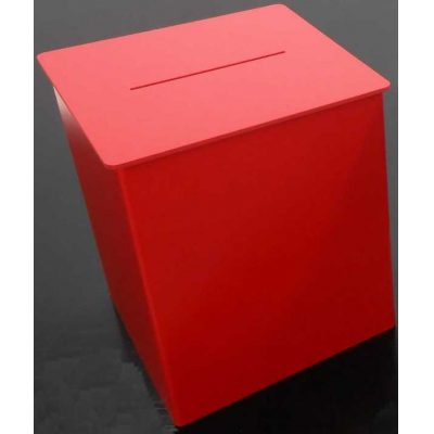 Foam Pvc Suggestion Box, Lockable Entry Form Box