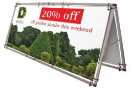 Banner Frames, A Board, Golf Banners