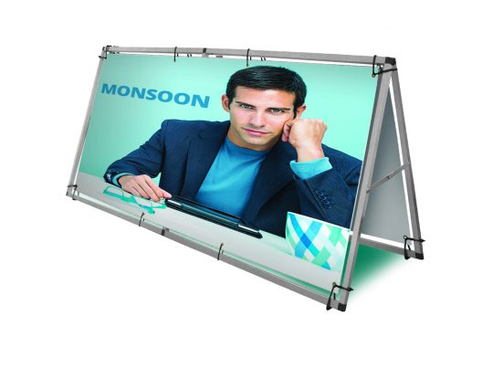 Outdoor Banner Frames, Golf Banner