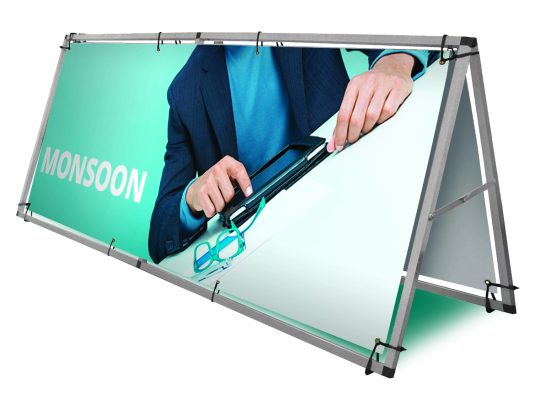 A Frame Outdoor Banners, Sport Field Banners, Golf Banners