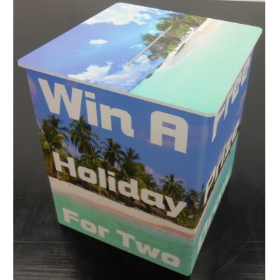 Printed Competition Boxes, Foamex Suggestion Box