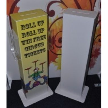 Freestanding Ticket Towers, Competition Entry Boxes
