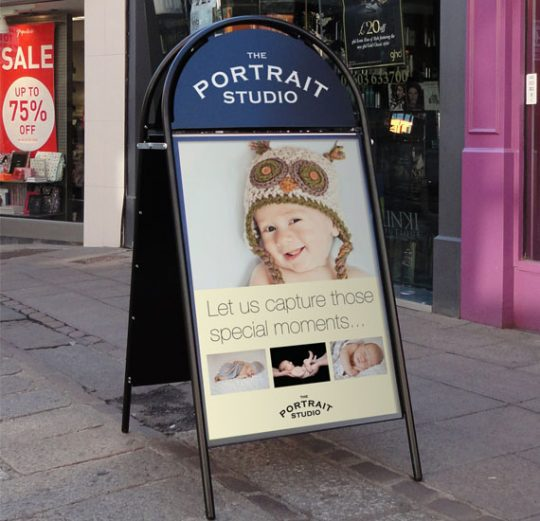 Pavement Signs, Sandwich Boards, A Boards