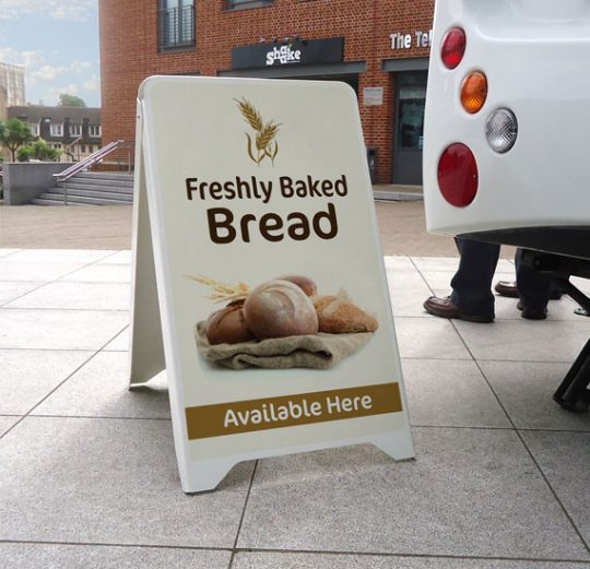 Cheap A Board, Sandwich Board, Pavement Sign