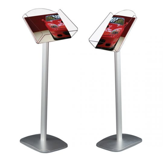 Freestanding Leaflet Stand, Leaflet Dispenser Stand, A4 Leaflet Holder