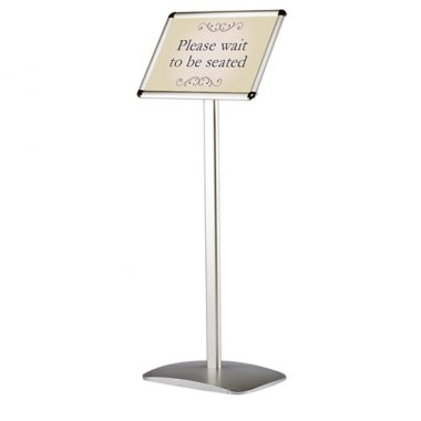 Poster Stand, Freestanding Menu Board, Snap Frame Menu Stand