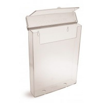 A4 Leaflet Holder with Lid