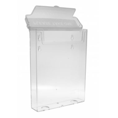 A5 Flyer Holder with Lid