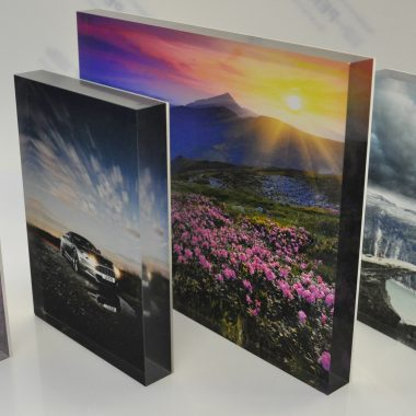 Perspex Photo Blocks, Acrylic Photo Block Frame