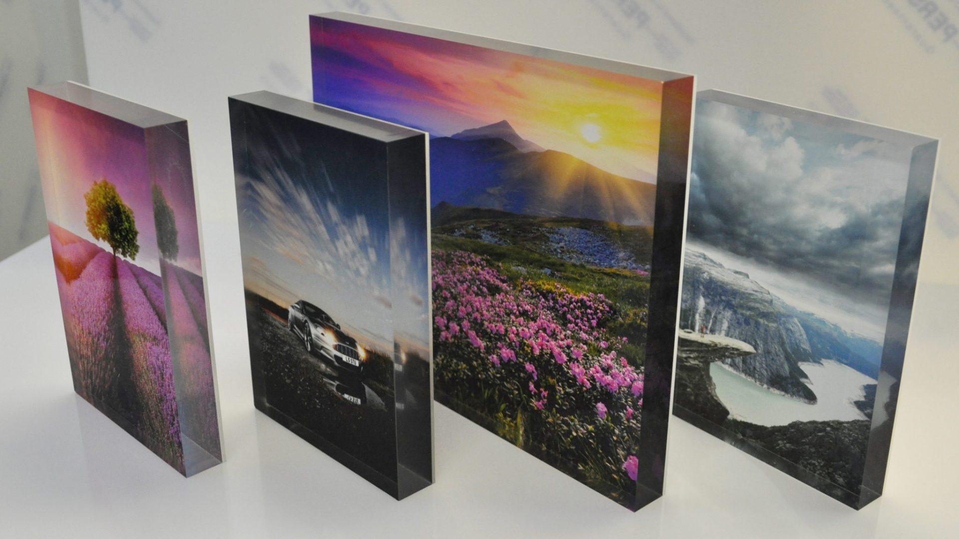 6x4 Perspex Photo Block