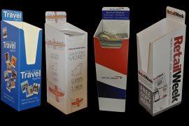 Dump bins, Brochure Bins, A4, A5, Tabloid Newspaper