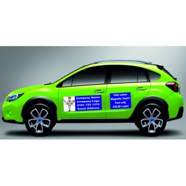 Magnetic Van Signs, Car Signage