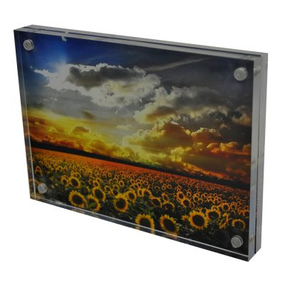 Magnetic Photo Frames, Perspex Photo Holders