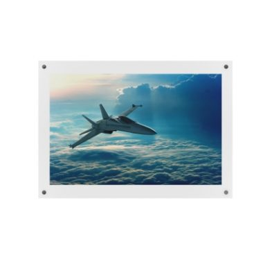 Clear Acrylic Wall Poster Frame