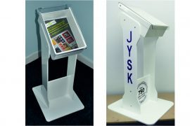 Magazine Stands, brochure stands