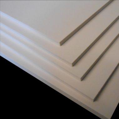 White Foamex Sheeting