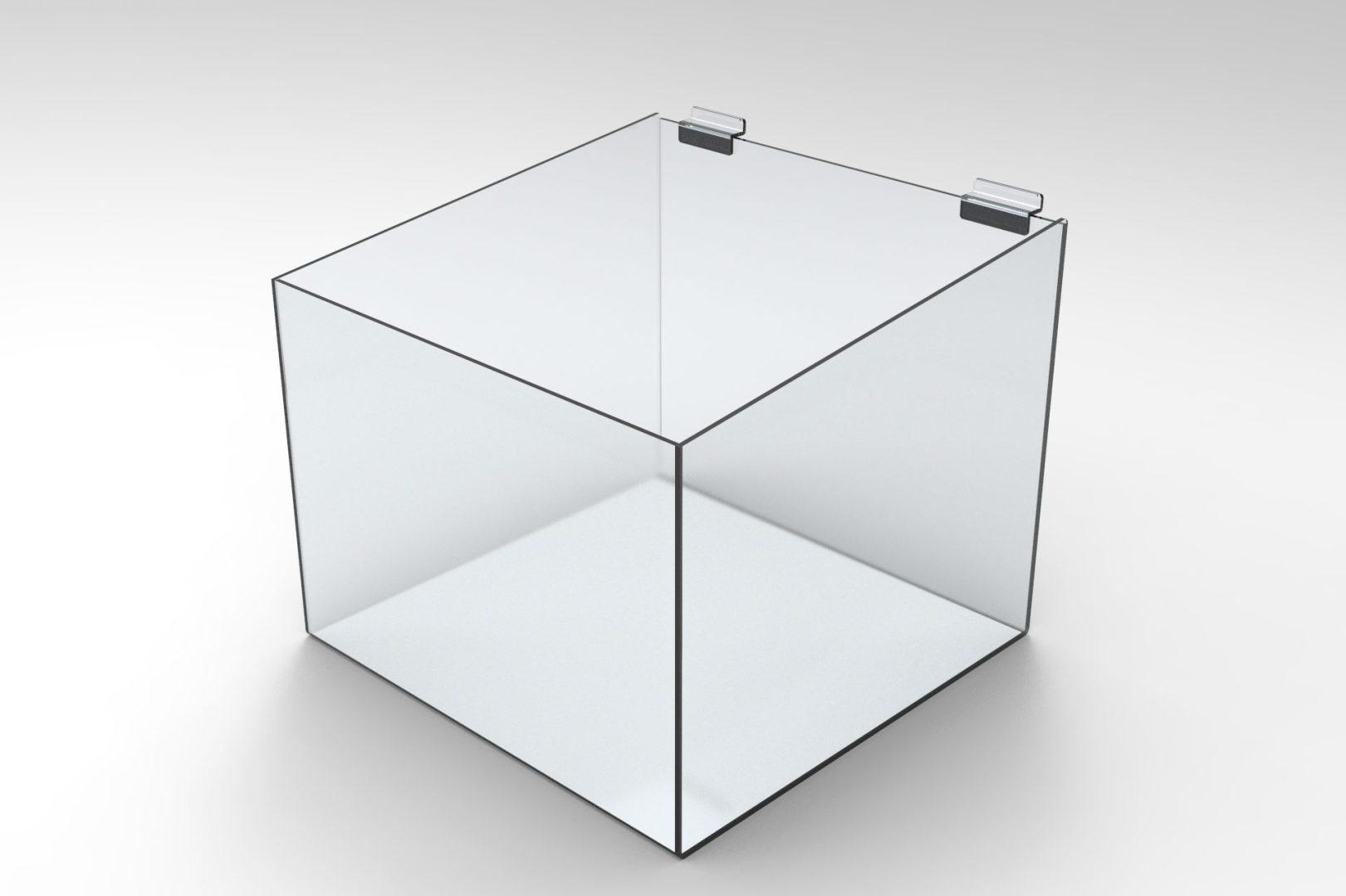 Slatwall Acrylic Display Bins