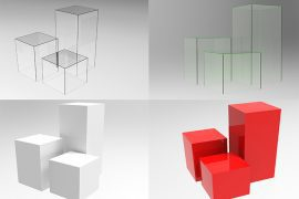 acrylic plinth pedestals