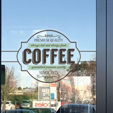 Static Cling, Window Graphics