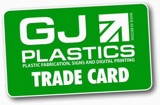 Trade Card GJ Plastics