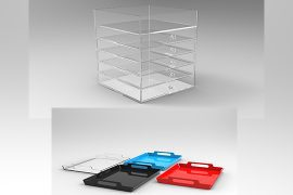 Acrylic Drawers and Trays