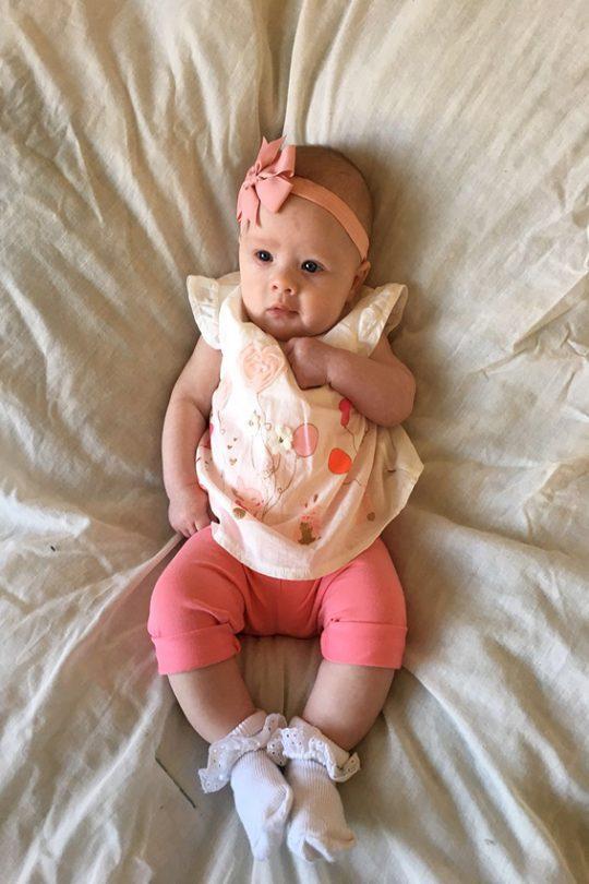 Baby Girl Acrylic photo art.