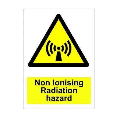Non Ionising Radiation Hazard Sign