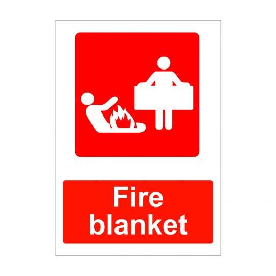 Fire Blanket Sign, Health and Safety Signage