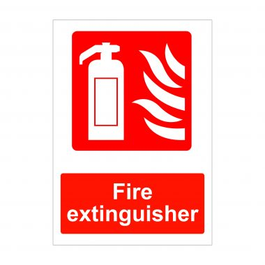 Fire Extinguisher Sign, Fire Safety Signs