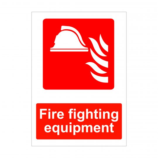 Fire Fighting Equipment Sign, Fire Safety Signs