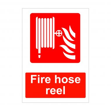 Fire Hose Reel Sign, Fire Safety Signage