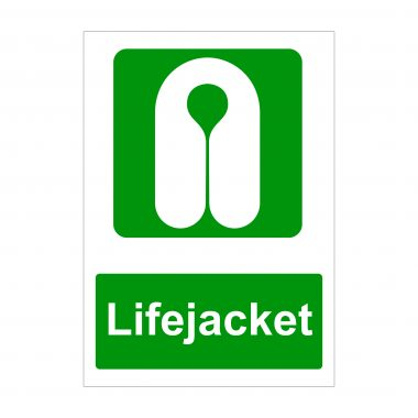 Lifejacket Sign, Correx Sign