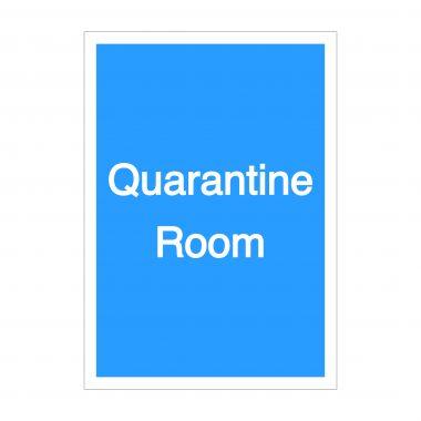 Quarantine Room Sign, Covid-19 Signage, Corona Virus Signage