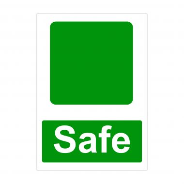 Safe Sign, Health and Safety Signs, Printed Correx Boards