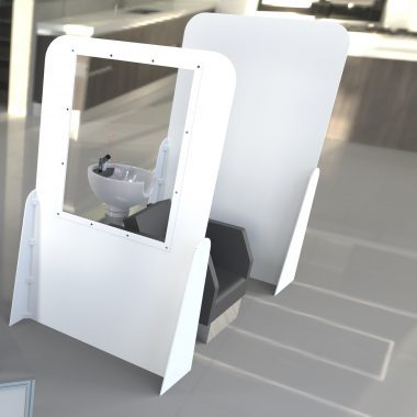 Floor-standing Screen GuardsWith without viewing window.