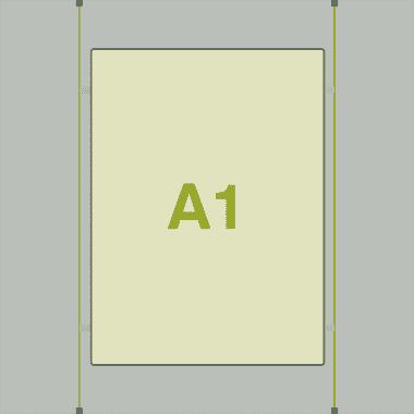 A1 LED Light Pocket Estate Agent Display