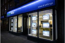 LED Light Pockets, Estate Agent Cable Displays