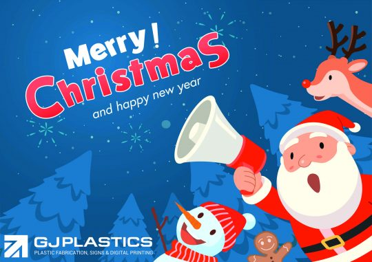 Christmas 2020 Opening and Closing Times GJ Plastics