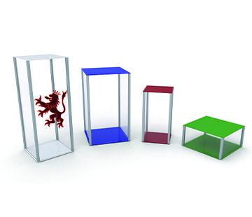 Retail Display Plinths GJ Plastics