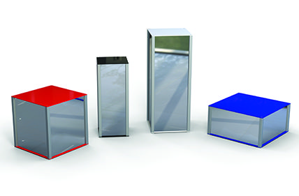 Mirror Plinths Pedestals product display
